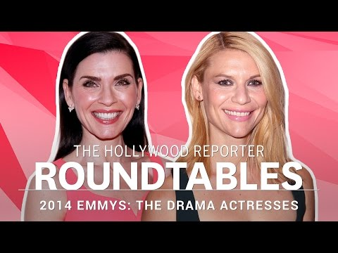 Claire Danes, Julianna Margulies and more Drama Actresses on THR † s Roundtable | Emmys 2014