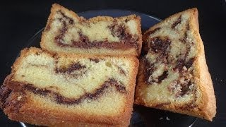 Repeat youtube video Nutella Marbled Pound Cake - with yoyomax12