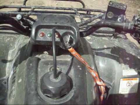 2006 400ex Wiring Diagram Honda Rancher Problem Youtube
