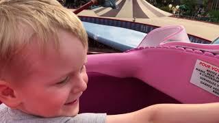 Disneyland mit Dumbo fliegen