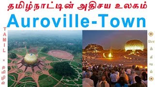 Auroville - Zero Religion Area in India | Tamil | ஆரோவில் நகரம் | Vicky | Pokkisham