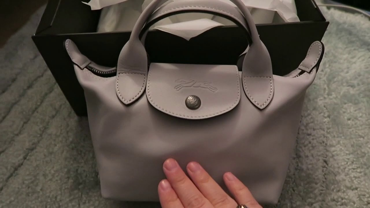 A Quick Look At the Longchamp Le Pliage Cuir MIni