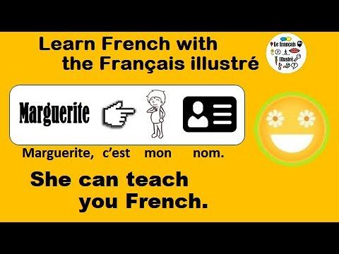 Le français illustré numéro 91: Marguerite, cest mon nom