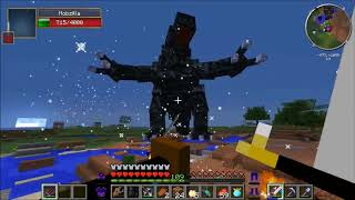 PopularMMOs - Minecraft  MOBZILLA BOSS CHALLENGE EPS6 38