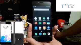 Unboxing / Review / Resenha - Smartphone Meizu M5c - Como usar