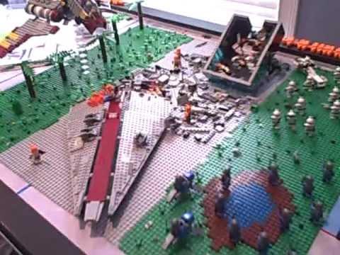 Lego star wars crashed venator moc youtube - Croiseur star wars lego ...