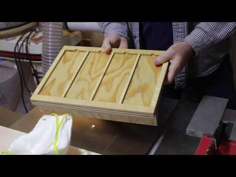 Making a Sharpening Plate Holder