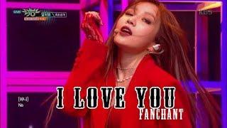 EXID - 'I Love You' Lyrics+FANCHANT