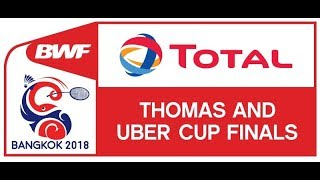 China (3) VS Indonesia (1) | Live Score Badminton BWF Thomas & Uber 25 Mei 2018