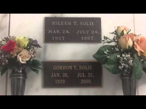 The grave of Gordon Solie