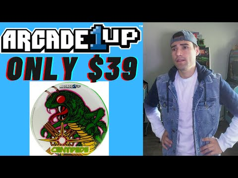 ARCADE1UP PAC-MAN AND CENTIPEDE STOOLS ON SALE FOR $39? from Brick Rod