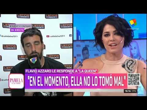 """Flavio Azzaro Se Desubicó Con """"La Queen"""" - Pamela A La Tarde (05/09/2019)"""