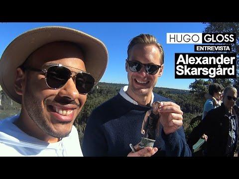 """Hugo Gloss entrevista Alexander Skarsgård, de """"A Lenda de Tarzan"""""""