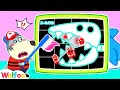 Brush Brush Brush Your Teeth With X-Rays - Wolfoo Learns Healthy Habits for Kids   Wolfoo Channel