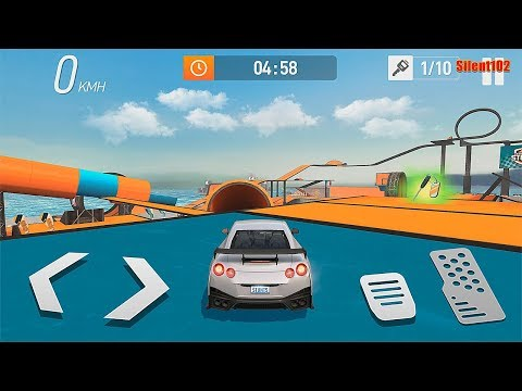 Car Stunt Races: Mega Ramps #3 - Best Android Gameplay By Silent102