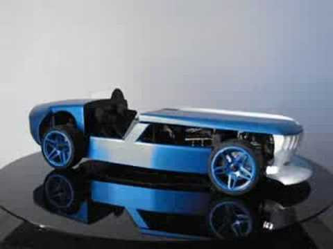 Bmw Z0 Concept Scale Model Youtube