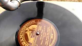 Servus Wien 2 Teil - Lajos Barany & Alfred Strauß - Grammophon 78 Rpm