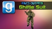 Garry's Mod Pac3 Outfits - YouTube