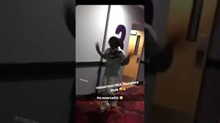Yvng Homie reverses the NBA Youngboy Stomp #nbayoungboystomp