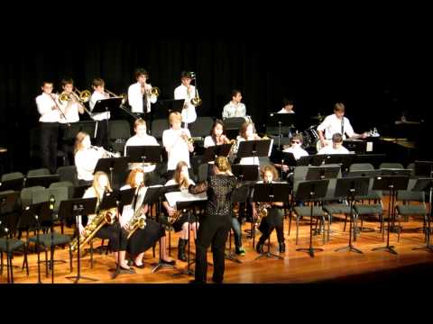 Hood River Middle School Winter Concert 2013 - Jazz Band - In the Mood
