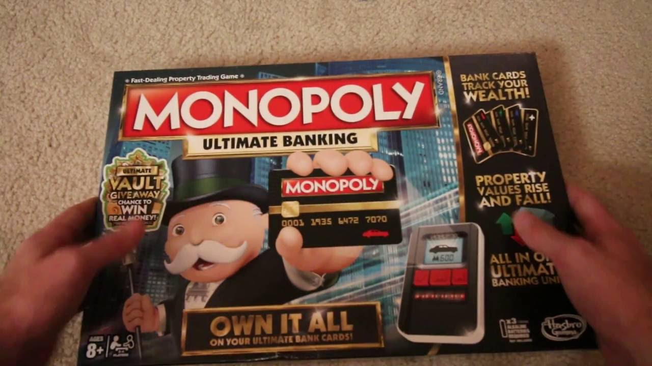 Target monopoly ultimate banking
