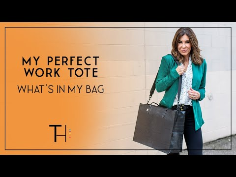 My Perfect Work Bag & What's In It