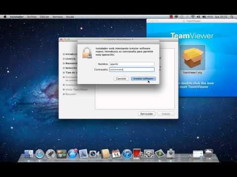 Como Instalar Teamviewer para Mac OS X Lion 10.7.4 - YouTube