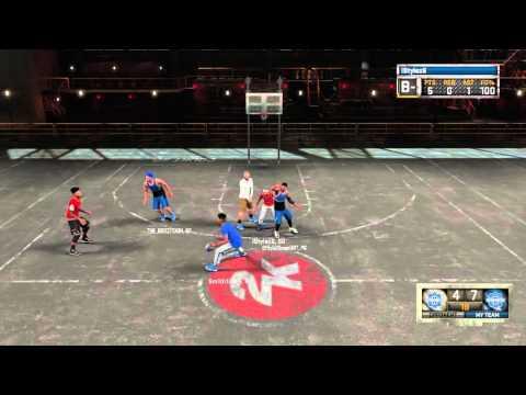 NBA 2K16 My Park: 1st Game On The park i Go Off