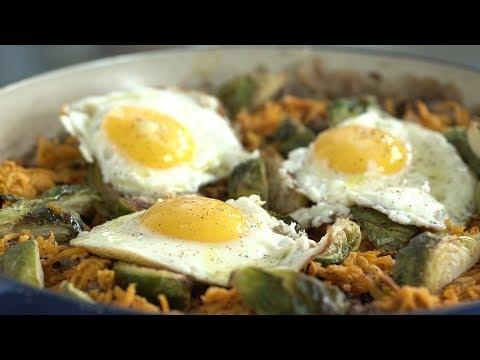 Brussels Sprout Sweet Potato Lean Beef Hash with Dan Churchill