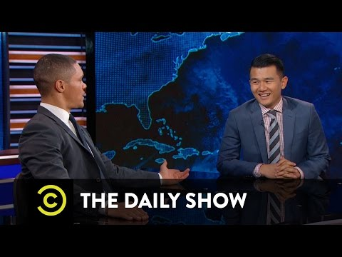 The Daily Show - Between the Scenes - The Truth About Ronny Chieng's Accent