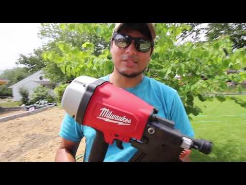Framing Addition + Milwaukee Framing Gun 7200-20 Unboxing/Review