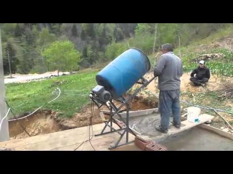 Homemade Cement Mixer By Dr Asİl Berk Youtube