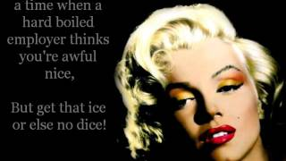Marilyn Monroe - Diamonds Are A Girl