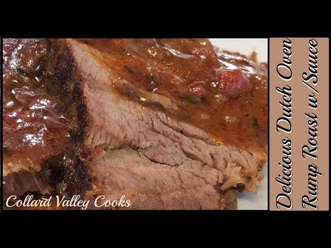 How We Make Rump Roast In Dutch Oven, Best Old Fashioned Southern Cooking Recipes