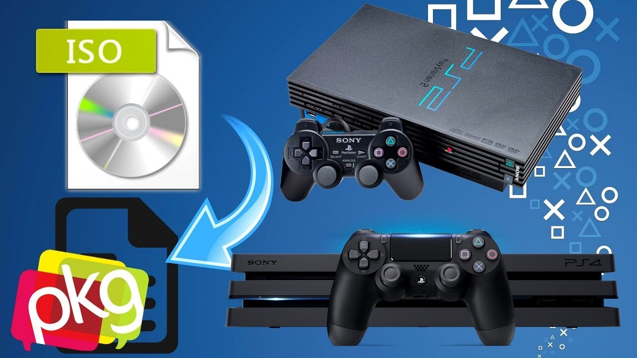 DESBLOQUEIO PS4: TUTORIAL ISO DE PS2 PARA PKG MIRA 5 05 PLAYSTATION 4