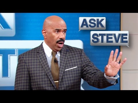 Ask Steve: I'm getting wetter and wetter    STEVE HARVEY from YouTube · Duration:  3 minutes 4 seconds