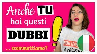 7 Dubbi sull'ITALIANO che Confondono persino i Professori Universitari... figuriamoci gli STRANIERI!