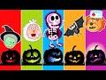 Halloween Jokes with Lion Family   Cartoon for Kids