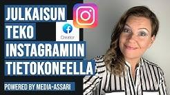 Instagram ja IGTV julkaiseminen Facebook Creator Studiosta