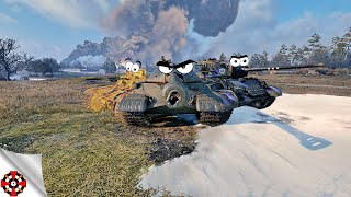 World of Tanks - RARE TANKS! #2 (WoT IS-5 | T23E3 | T1E6 gameplay)