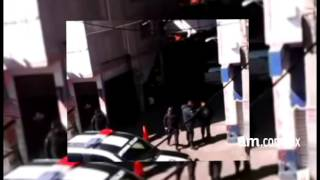 Balean a policía tras asalto a una joyería en Pénjamo