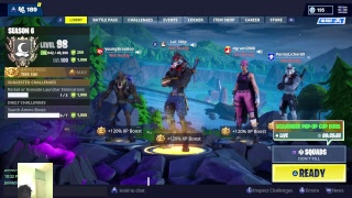 Fortnite season 6 live stream tender defender giveaway happy thanksgiving
