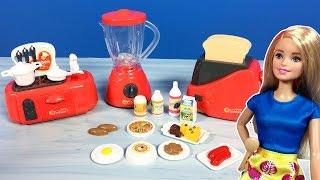 Barbie ile yeni oyuncak mutfak seti  EvcilikTV