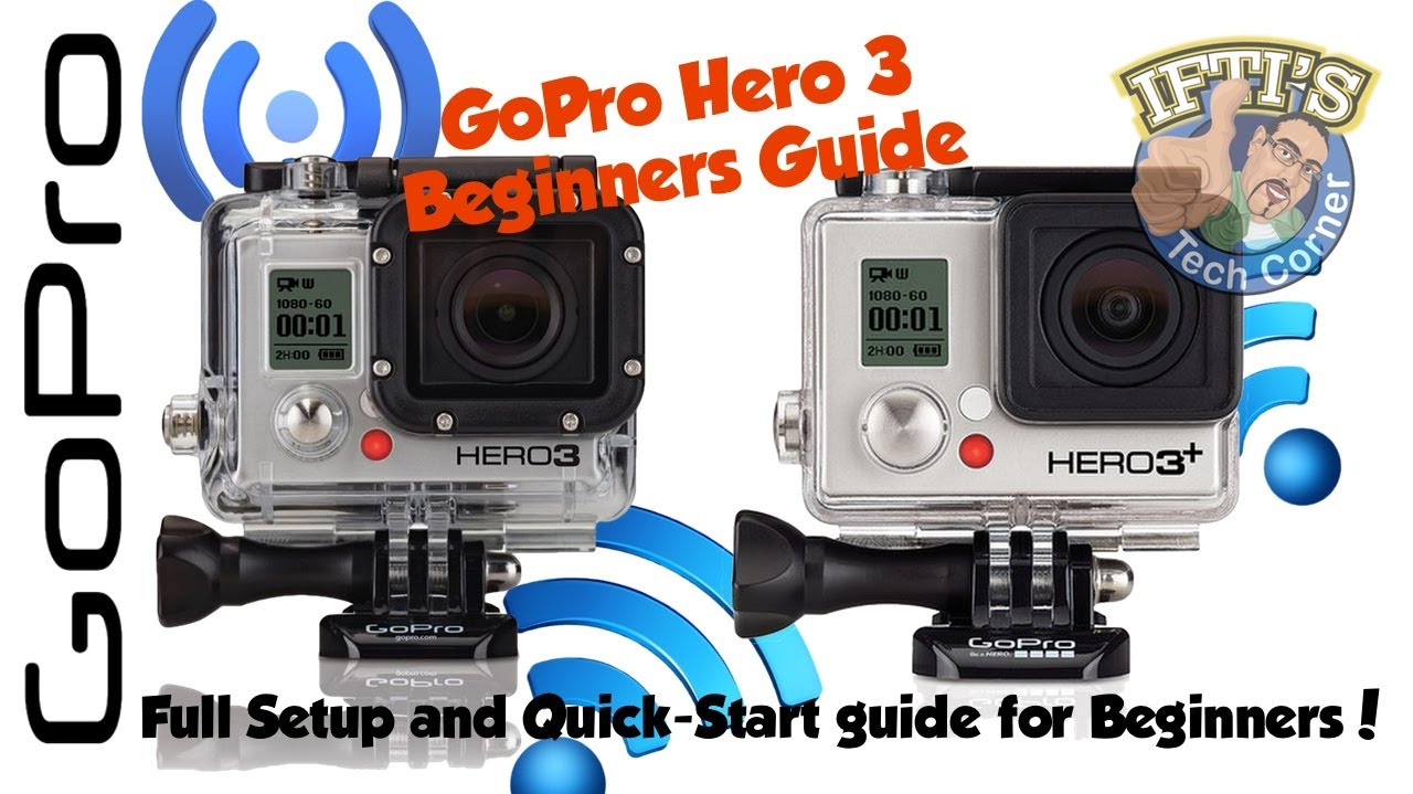 beginners guide to setting up and using the gopro hero 3. Black Bedroom Furniture Sets. Home Design Ideas