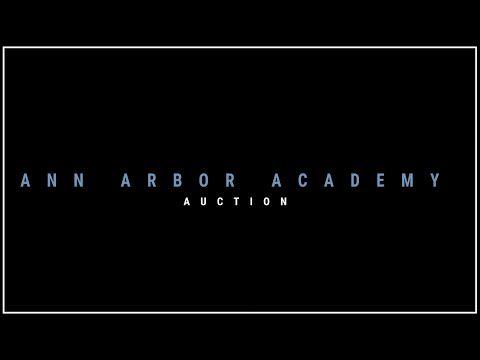 Ann Arbor Academy 2021 Auction Kickoff Video