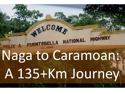 Naga to Caramoan: A 135+Km Journey