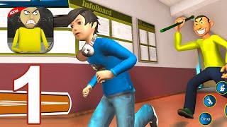 Baldi Scary Teacher Learning Math in Horror School - Gameplay Walkthrough Part 1 (Android,iOS)