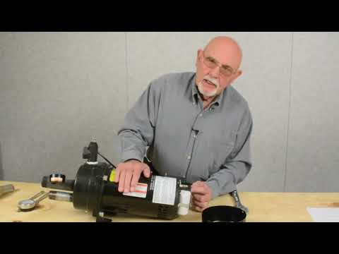 Convertible Jet Pump Deep Well Installation #2
