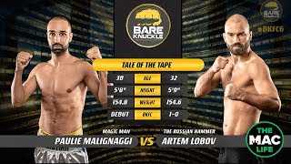 FULL FIGHT: Artem Lobov vs. Paulie Malignaggi | Bare Knuckle FC 6