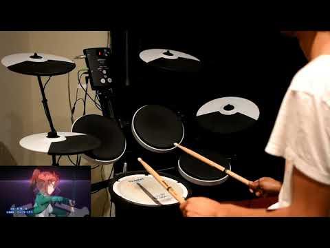Mahouka Koukou no Rettousei OP 2 -【grilletto】by GARNiDELiA - Drum Cover